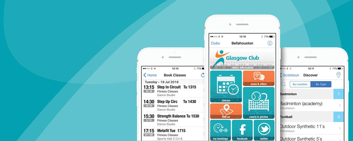 Download the Free Glasgow Club App